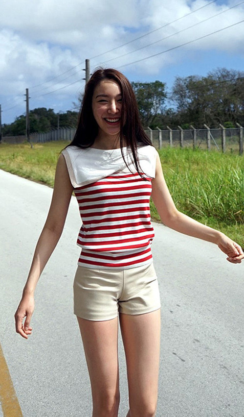 Marine Top (red/ black)